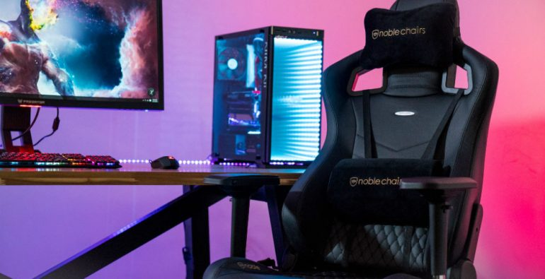 ghế gaming Noblechairs Epic Real Leather