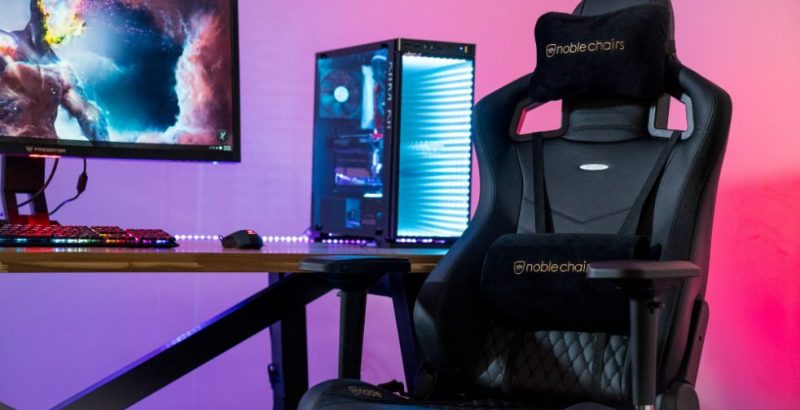 ghe gaming Noblechairs Epic Real Leather