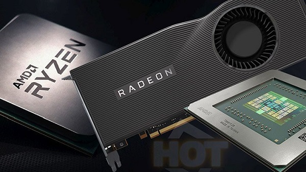 review card màn hinh Radeon™ RX 5700 Series AMD 1