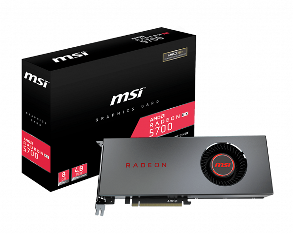 review card màn hinh Radeon™ RX 5700 Series AMD 2